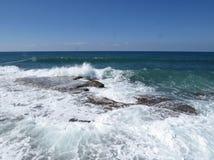 Havet vaggar arkivfoton