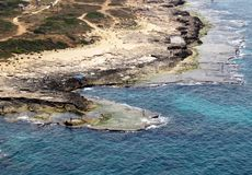 Havet vaggar royaltyfria foton