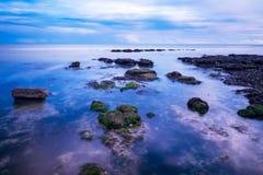 Havet vaggar, rottingdean, brighton Royaltyfria Bilder