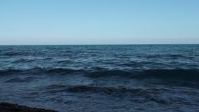 Havet vinkar bakgrund Hd lager videofilmer