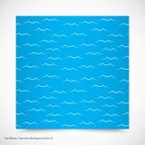 Havet vinkar Arkivfoton