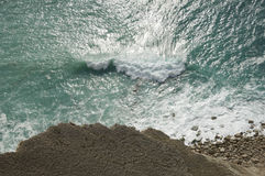 Havet ytbehandlar Fotografering för Bildbyråer