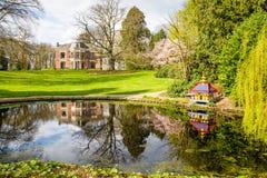Havezate in Oldenzaal the Netherlands. Havezate de Haer in Oldenzaal the Netherlands Stock Photography