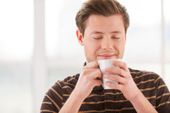 Having a coffee break. Royalty Free Stock Photo