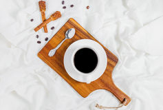Having a cup of coffee Royalty Free Stock Photography