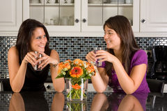 Having a drink Stock Photography