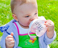 Having a Drink Royalty Free Stock Photo