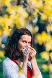 Having a flu Royalty Free Stock Photos