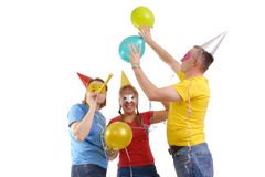 Having fun Royalty Free Stock Images
