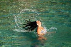 Having fun in Adriatic waters Royalty Free Stock Photos