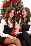 Having fun at Christmas time Royalty Free Stock Photo