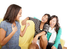 Having fun hanging out Royalty Free Stock Images