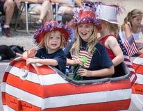 Having Fun on Parade Royalty Free Stock Images