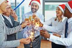 Having fun at party Royalty Free Stock Images