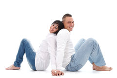 Having fun together Royalty Free Stock Photo