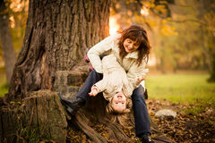 Having fun together Stock Images