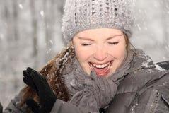 Having fun during winter Stock Photos
