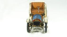 Antique tin old model car royalty free stock photo