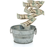 Having a lot of money Stock Photo
