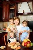 Having Many Children Royalty Free Stock Images