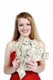 Having Money is Fun Stock Photos