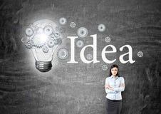 Having new idea Stock Photo