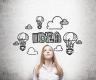 Having new idea Stock Photos