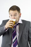 Having a Pint Royalty Free Stock Photos