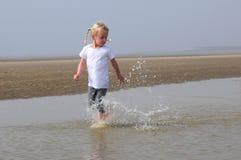 Having a splashing time Stock Photo