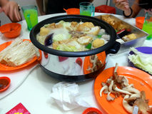 Having Steamboat Together Stock Photography