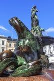 Havis Amanda  fountain at the Trade square, Helsinki, Finland. Royalty Free Stock Photo