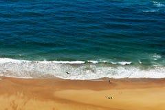 Havkust i Portugal Arkivfoton