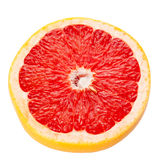 Havled Grapefruit with Clipping Path Stock Image