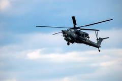 Havoc штурмового вертолета Mi-28 Стоковое фото RF
