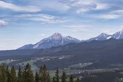 Havran - mountain of the Belian Tatras royalty free stock photo