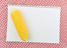 Havreöra på receptboksidan Royaltyfria Bilder