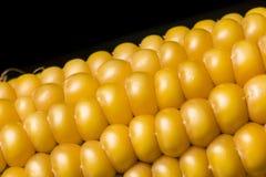 Havre makro, guling, moget som är aptitretande, mat, healt Arkivfoto