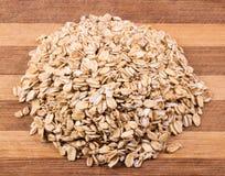 Havremjöltextur Arkivbild