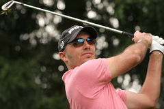 Havret, Green Velvet golf pro-am, Megeve, 2006 Stock Photography