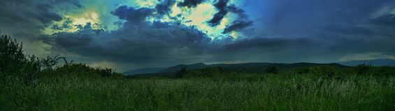 Havrianskas-Hügel Stockfotografie