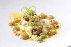 Havs- gourmet- platta Arkivbilder