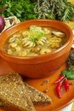 havs- soup royaltyfri foto