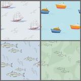 Havsbakgrund Arkivbild