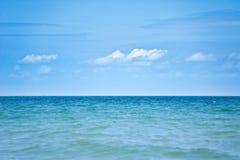 Havsbakgrund Arkivfoton