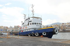 Havsbogserbåt royaltyfria bilder