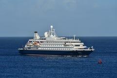 Havsdröm 1 att närma sig Bridgetown Barbados Arkivfoto