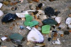 Havsexponeringsglas arkivfoton