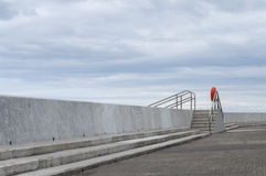 Havsförsvar arkivfoton