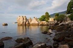 Havsfjärd i gryningtiden Fotografering för Bildbyråer