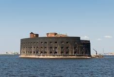Havsfort av Kronstadt Royaltyfri Bild
